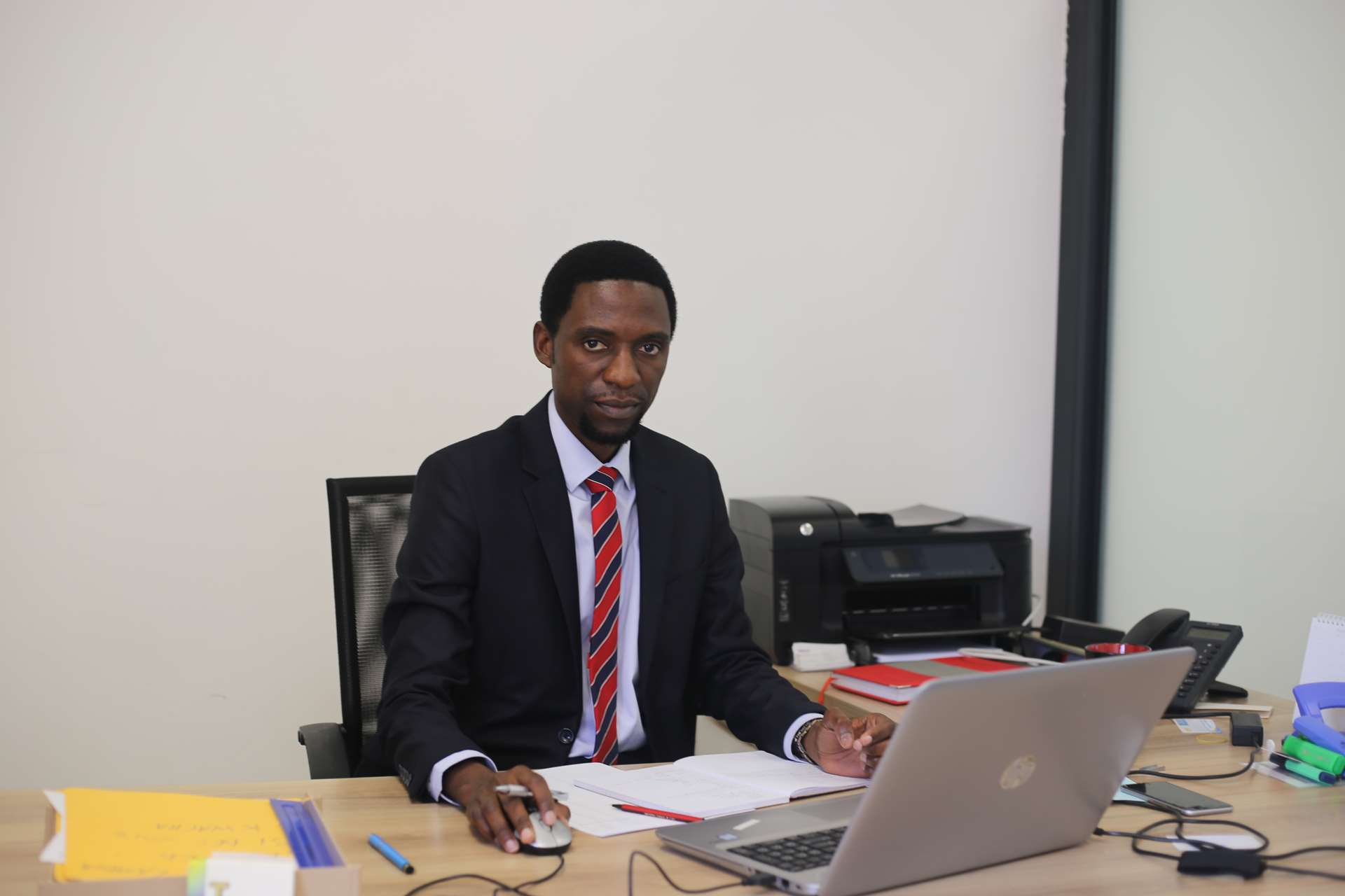 Trewby Kaumba, Manager, BSO/BSD